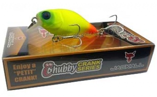 Воблер JACKALL CHUBBY 38 Chartreuse Orange