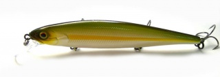 Воблер Jackall Mag Squad 115 SP Chartreuse Striped Ayu