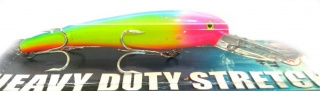 Manns heavy duty stretch 25+ Rainbow